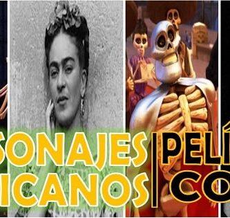 que personajes de la cultura de popular aparecen en coco