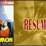 Reseña de la pelicula Rashomon